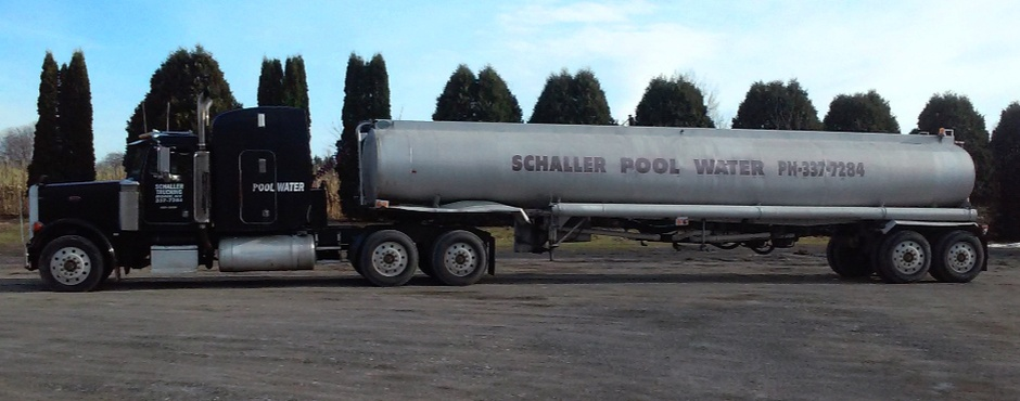 Schaller Pool Water truck